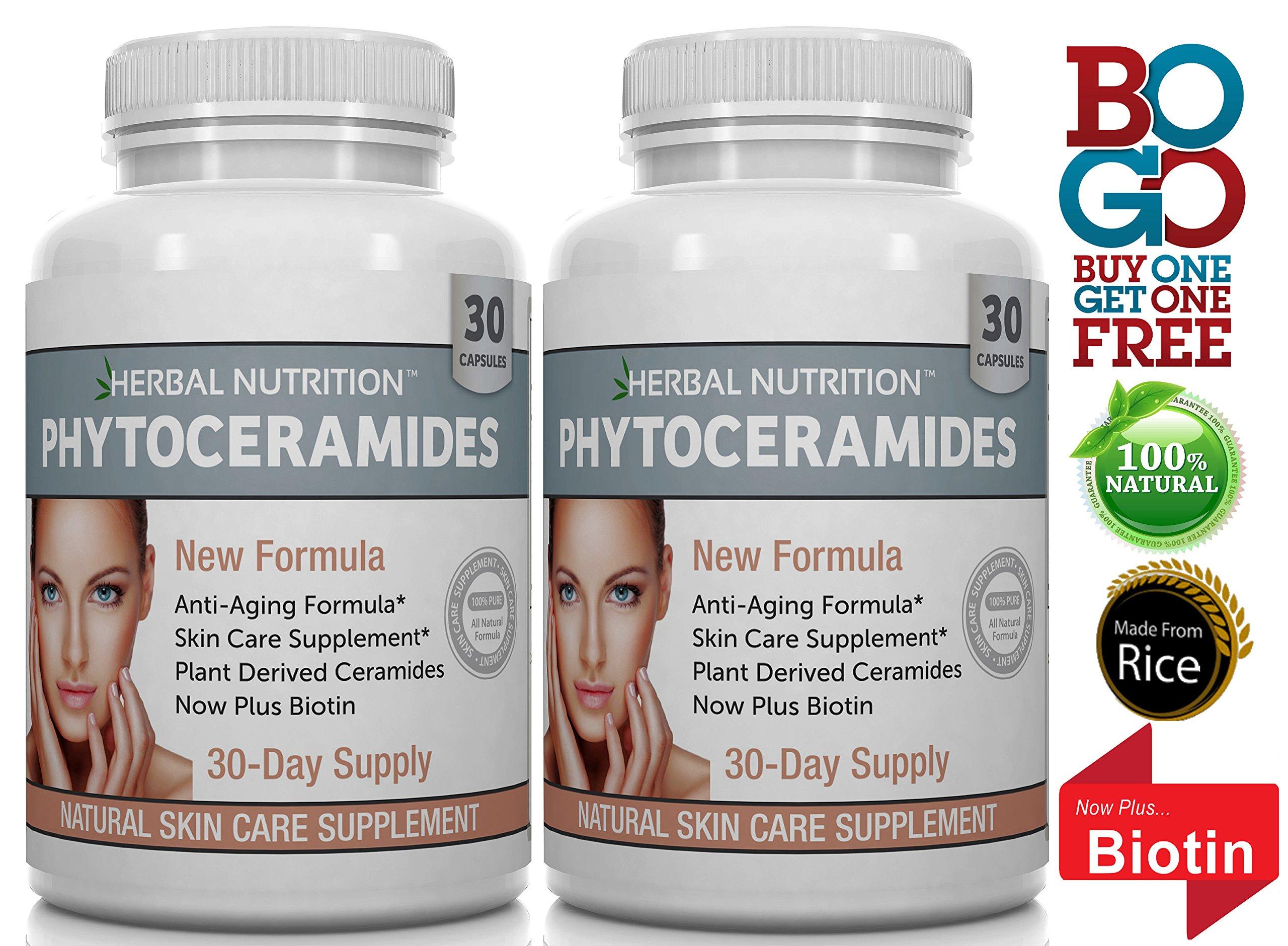 Phytoceramides Anti Aging Rejuvenation All Natural Ceramides