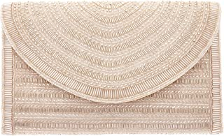 From St Xavier Women's Bailey Clutch, Champagne, One Size