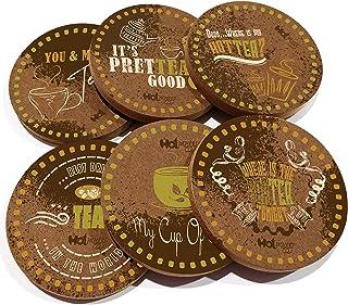 Hot Muggs® Tea Bunk (Set of 6 Coasters)