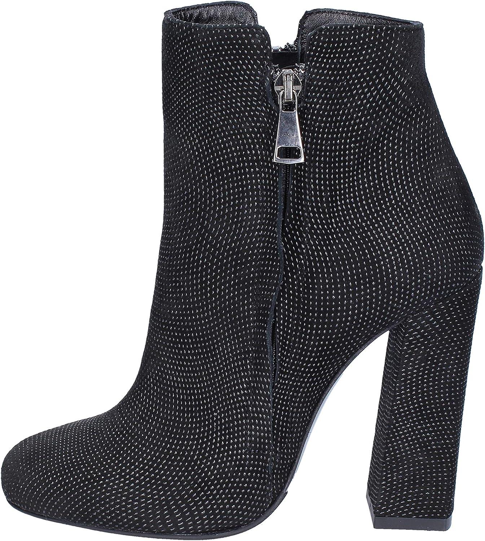 MARC ELLIS Boots Womens Suede Black