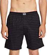 Levi's Men's Soft Cotton 300 LS Printed Woven Boxer Shorts With Button Fly and Pockets (Pack of 1)
