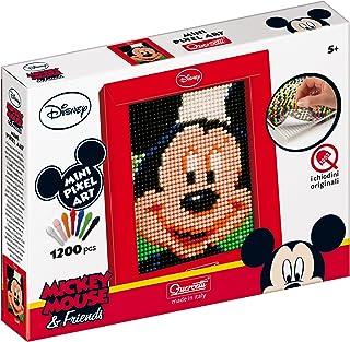 Quercetti–Mosaïque avec Grille Mickey Mouse (0825)
