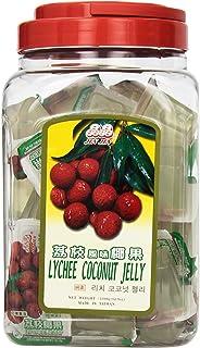 Jin Jin Lychee Coconut Candy Jelly Cups, 52.9 oz.