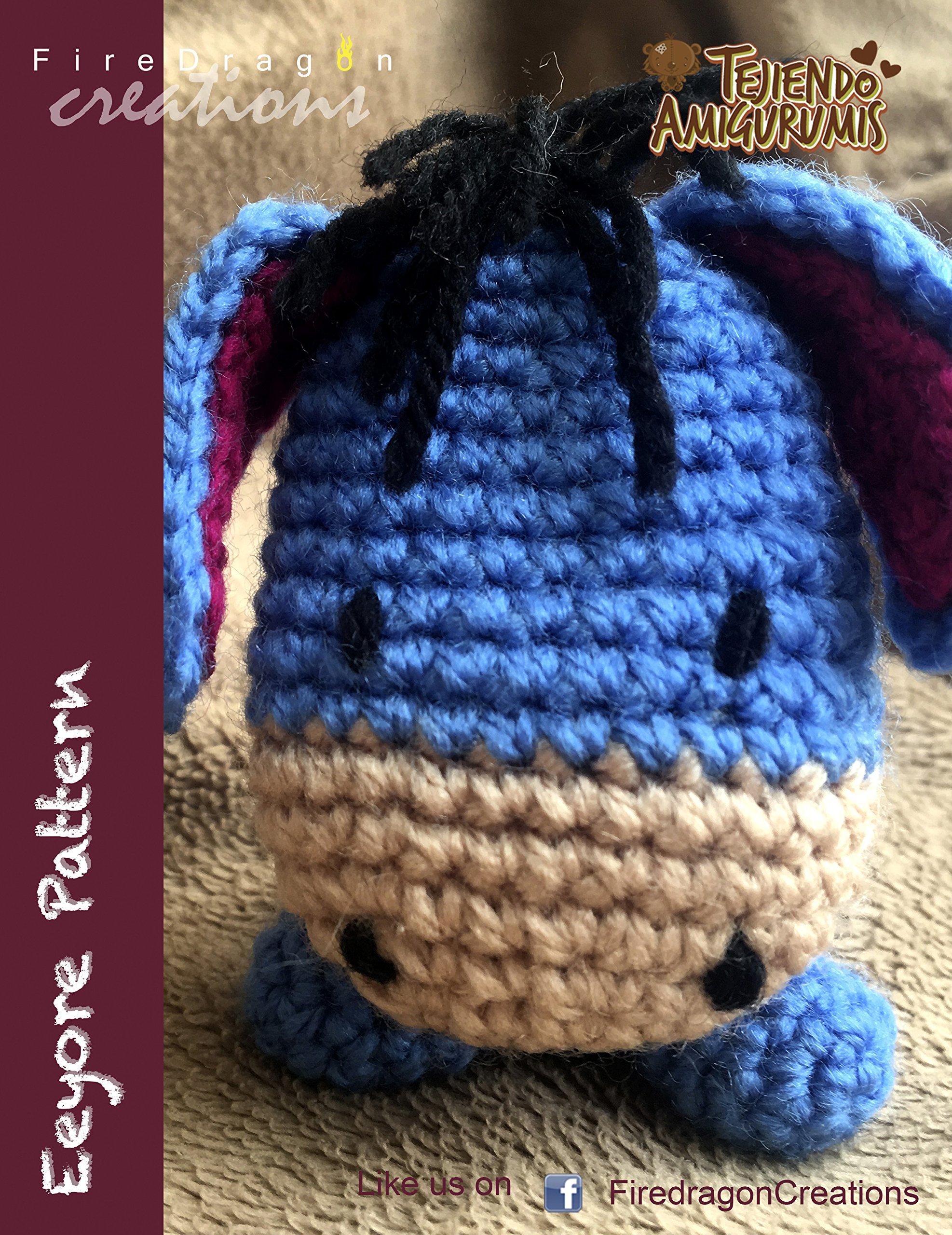 PATTERN: Crochet Eeyore Pattern Amigurumi Donkey Pattern | Etsy | 2560x1974