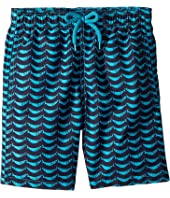 Vilebrequin Kids - Poissons Hamac Swim Trunk (Big Kids)