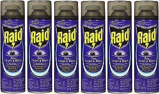 Raid Flea Killer Carpet & Room Spray, 16 OZ (Pack - 6)