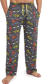 FRIENDS Lounge Pants for Men, 100% Cotton Mens Pajamas Bottoms, Pyjamas Trousers Small to 3XL, Tv Show Merchandise, Pyjama...