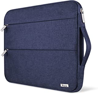 """Voova 15 15.6 14 Inch Laptop Sleeve Case with Handle Compatible with MacBook Pro /15"""" Surface Book 2 /XPS 15 /Chromebook/H..."""