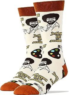 Men's Bob Ross Novelty Funny Socks
