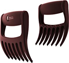 Meat Claws - Talon TIP Pulled Pork SHREDDERS - Extra 7th BBQ Fork Shreds Handles & Carves for Grill Smoker or Slow Crock P...