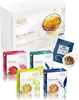 Ronnefeldt Tee Probierset / Tee Geschenkset Tee von Welt, 40 Teesorten lose 156 g inkl. Teenetz