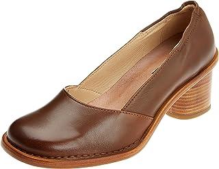 Esperando por ti Neosens S577 Restorojo Skin Cuero Debina, Zapatos Zapatos Zapatos de tacón con Punta Cerrada para Mujer  100% autentico