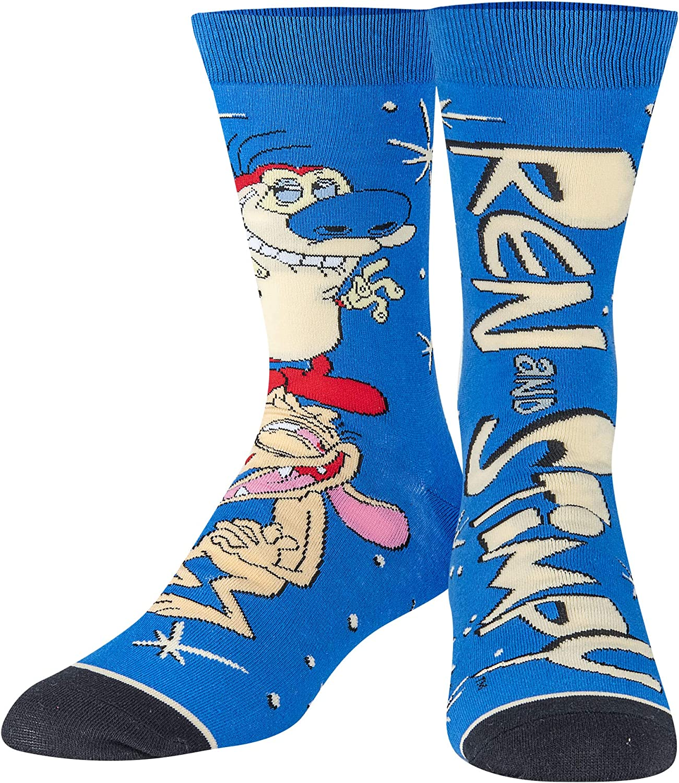 Odd Sox Nickelodeon Socks for Men Women Cart Retro It is very popular OFFicial shop 90s Fun Nick