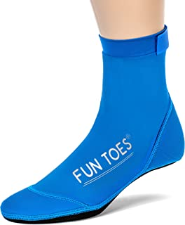 FUN TOES BEACH SOCKS for Volleyball Soccer, Camping, Rafting, Diving and all sand sports