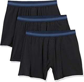 Men's 3-Pack Cotton Modal Stretch Knit Boxer Underwear