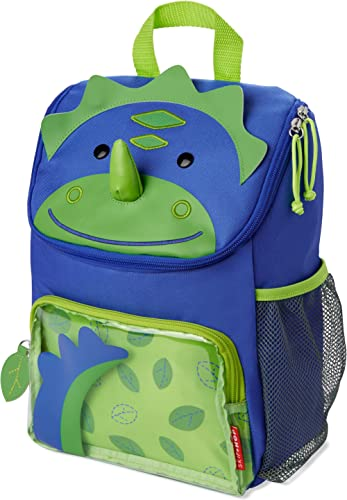 Skip Hop Big Kid Backpack, Zoo Kindergarten, Dino