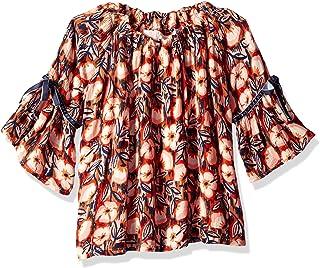 Gymboree Girls' Big Long Sleeve Button Down Shirt