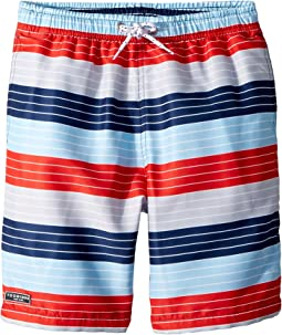 Toobydoo Stars and Stripes Swim Shorts (Infant/Toddler/Little Kids/Big Kids)