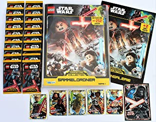 Lego star wars série 1 trading card game 25 Booster NOUVEAU /& NEUF dans sa boîte