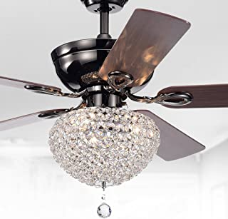 chandelier and ceiling fan combo