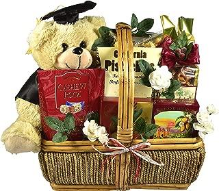 Gift Basket Village - Congrats Grad, Graduation Gift Basket For High School or College Graduates (Medium)