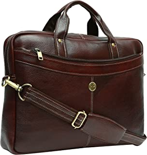 Leather Laptop Bags Buy Leather Laptop Bags Online At Best Prices In India Amazon In
