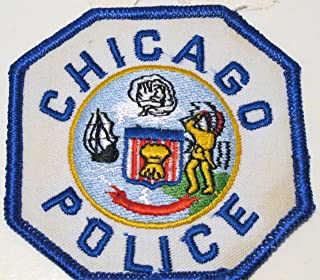 Chicago, Illinois Police Department Patch - Blue by HighQ Store