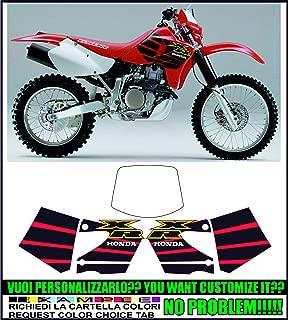 INDICARE IL MODELLO A o B Kit adesivi decal stikers yamaha xt 550 1982