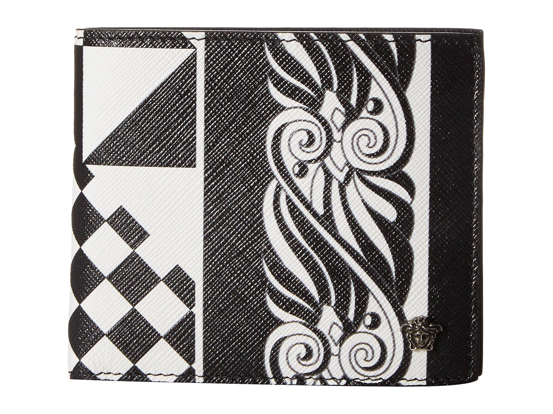 Billetera para Hombre Versace Printed Bifold Wallet  + Versace en VeoyCompro.net