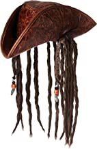 Jacobson Hat Company Men`s Caribbean Pirate with Braids