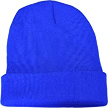 Komonee Plain Casual Warm Winter Beanie Hat