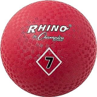 Champion Sports 7-Inch Red Playground Ball