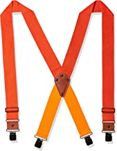 Dickies Industrial Strength Suspenders - Men's Wide Adjustable Thick Strap Clips for Work Heavy Duty Pants