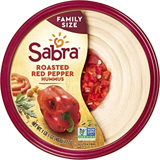 Sabra Roasted Red Pepper Hummus, 17 oz