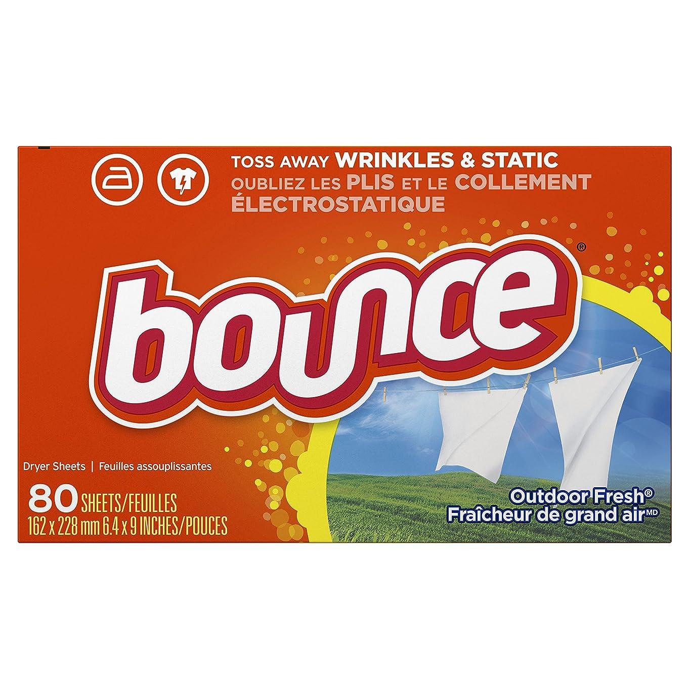 分布レモンうなずくバウンス Bounce 乾燥機柔軟仕上シート 柔軟剤 80枚