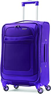 american tourister softside 25 inch ilite max spinner