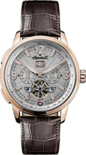 Ingersoll - Mens Analogue Classic Automatic Watch with Leather Strap I00303