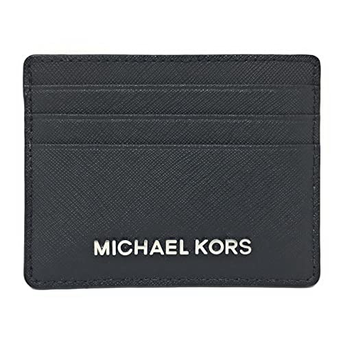 73b0f62c64f0 Michael Kors Jet Set Travel Large Saffiano Leather Card Holder