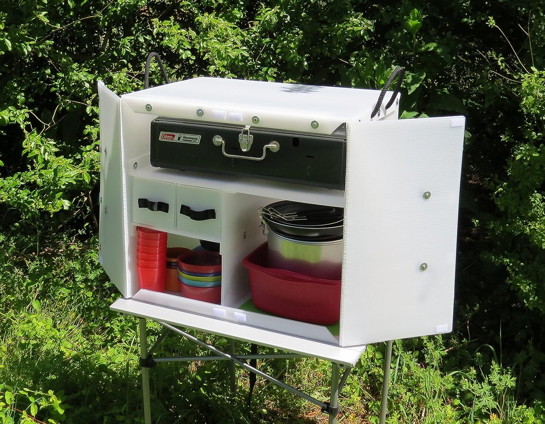 Amazon Com Camping Kitchen Box Chuck Box Automotive