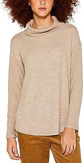 edc by Esprit dames shirt met lange mouwen 109CC1K015