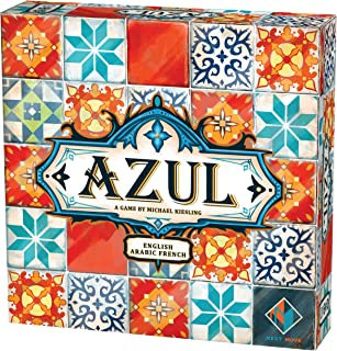 Azul | 2-4 Players | Official Version | English, Arabic and French Language | Family Game For Ages 8+ | Board Game - Abstr...