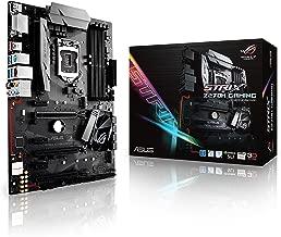 ASUS ROG STRIX Z270H GAMING LGA1151 DDR4 HDMI DVI M.2 ATX Motherboard with USB 3.1