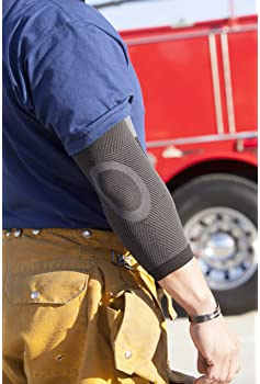 Copper Fit Unisex Advanced Support Elbow Sleeve, Medium