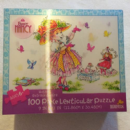 Fancy Nancy 100-Piece Lenticular Puzzle - Hostess Extraordinaire by Briarpatch