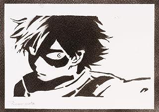 Poster Hero Academia Shoto Todoroki Handmade Graffiti Street Art - Artwork