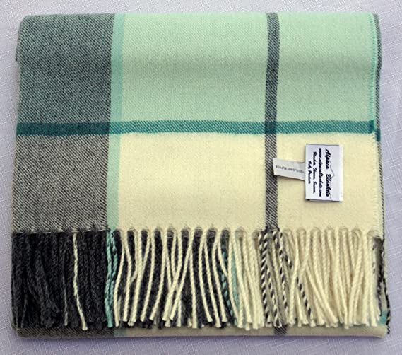 All Natural No Synthetics Alpaca FS Neutral Multi-Color Patchwork Throw