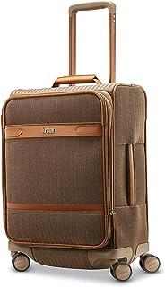 Hartmann Herringbone Deluxe Domestic Carry on Expandable Spinner, Terracotta Herringbone (Brown) - 123119-4097