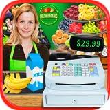 Real Grocery Store & Supermarket Simulator - Kids Shopping & Cash Register Games FREE