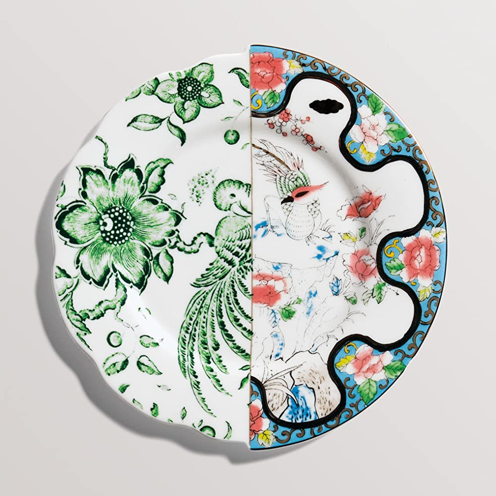 Seletti, piatto da frutta in porcellana Ø cm.20 h.1,6