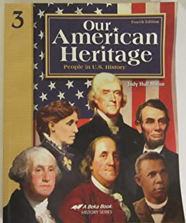Our American Heritage 3 A BEKA 4th ed,